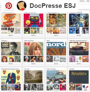 Pinterest DocPresse ESJ