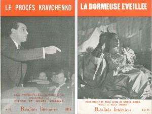 Réalités Littéraire n°23, mars 1949 et n°25, mai 1949.